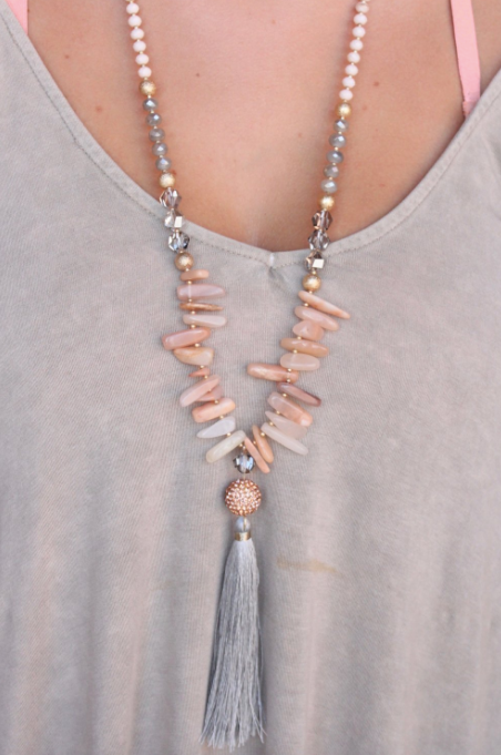 Pollux Stone Necklace