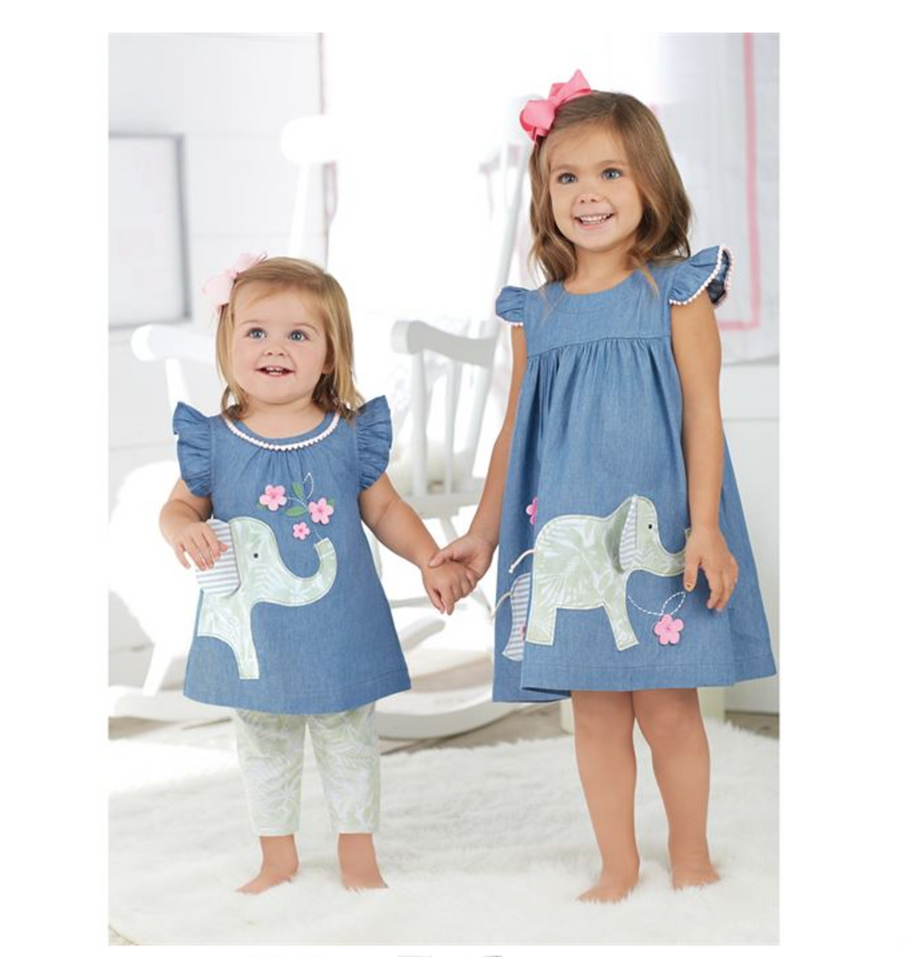 Elephant Top & Capri Set