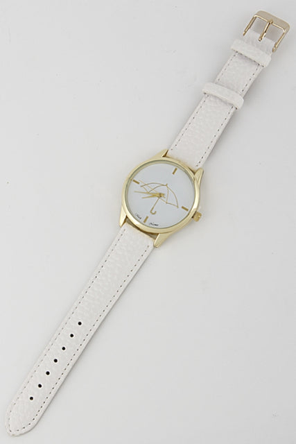 Ivory Water Resistant Watch