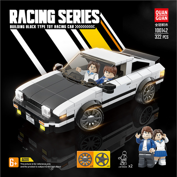 AE86 模型車積木 Toyota Sprinter AE86 Trueno Building Blocks