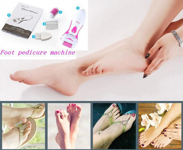 Portable Electric Foot Callus Remover - nailsugar