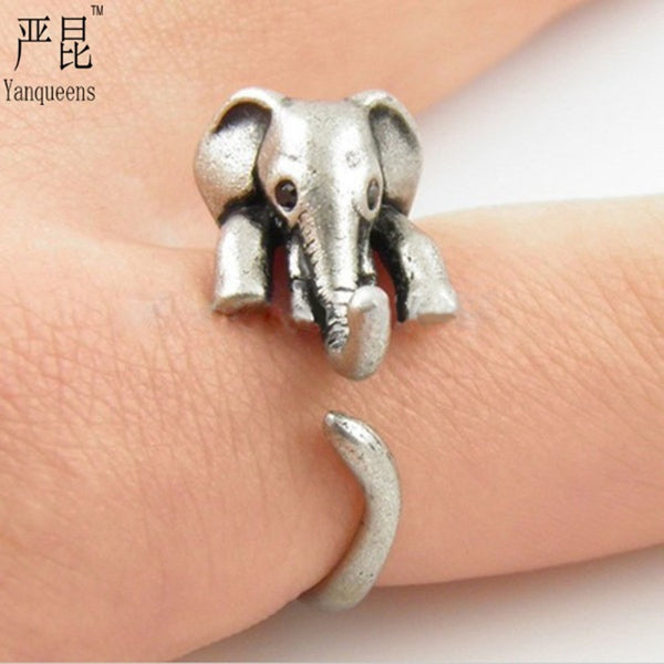 Cute Baby Elephant Ring