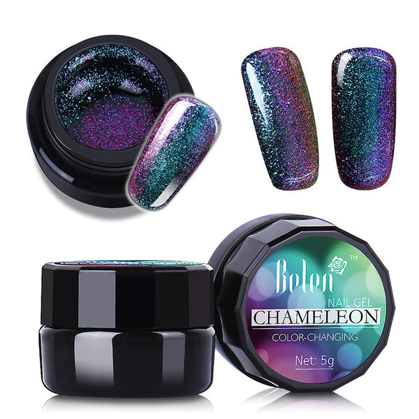 Metallic Color Changing Nail Polish