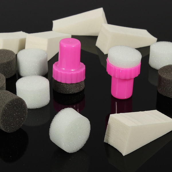 Nail Art Sponge Stamp Set