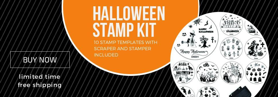 Halloween Stamping Kit