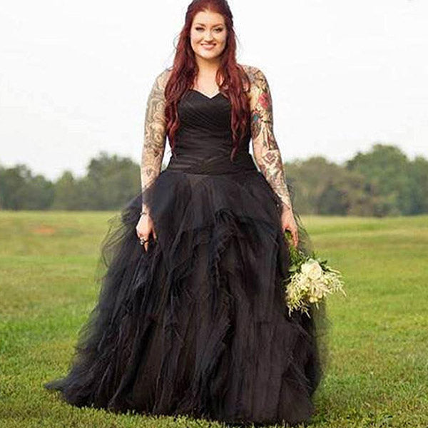 Gothic Tulle and Satin