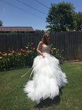 Boho Sweet Satin & Scarves Wedding Dress :: A Faded Sunflower Exclusive!