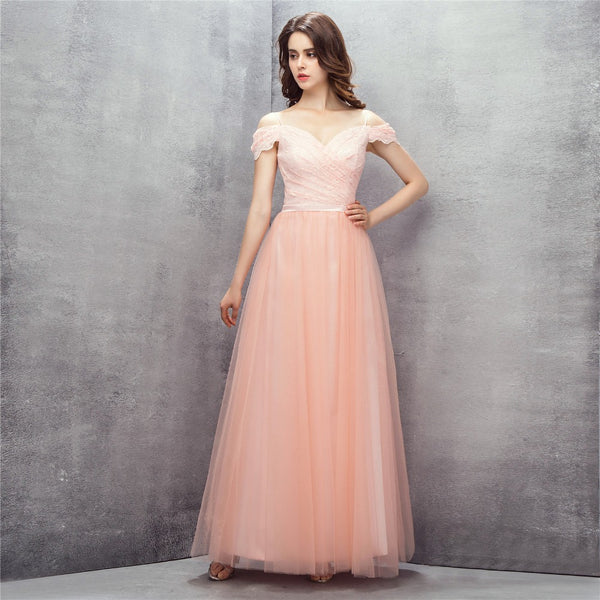 Style 4310 - Pretty in Peach  Evening/Prom Dress - Avail up to Size 26W