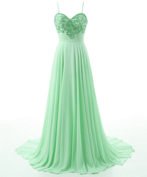 Style 4314 - Green Ice Crystal Evening/Prom Dress - Avail up to Size 26W