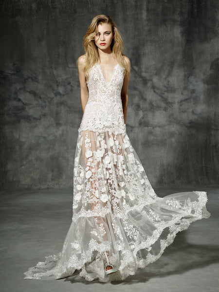 Inspired by Yolan Cris Couture Bridal – Aribau Copy ::  Very Limited Availability