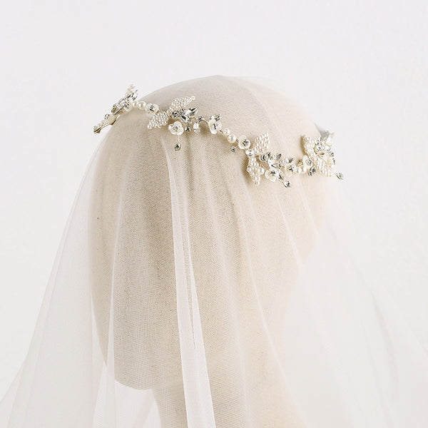 The Aglea Bridal Head Band