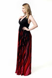 Boho Chic Summer Halter Top Maxi Beach Dress – Plus Size up to 20W