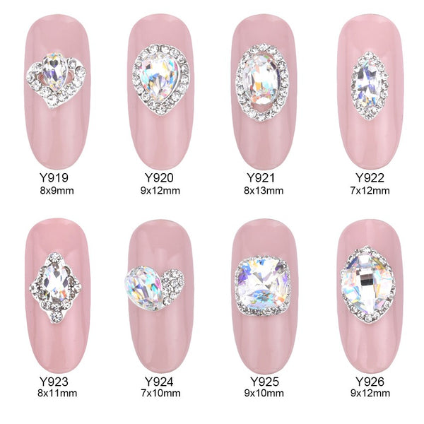 So Much Bling! Wedding Nail Art - Collection 1 – 10 pc Sets