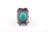 Vintage Style Tibetan Antique Silver Ring