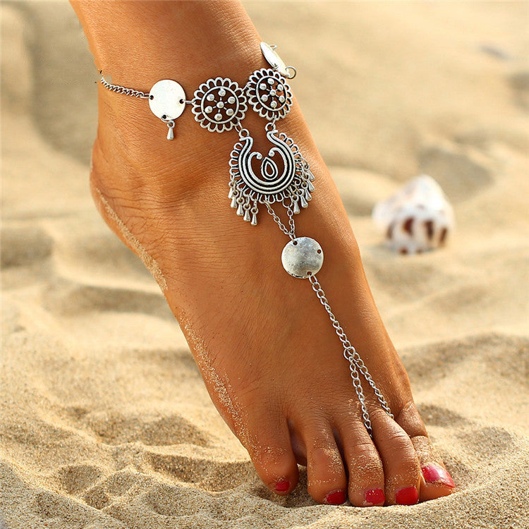 Boho Turkish Style Barefoot Sandals