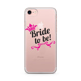 Bride 2 Be Crowns iPhone Cases