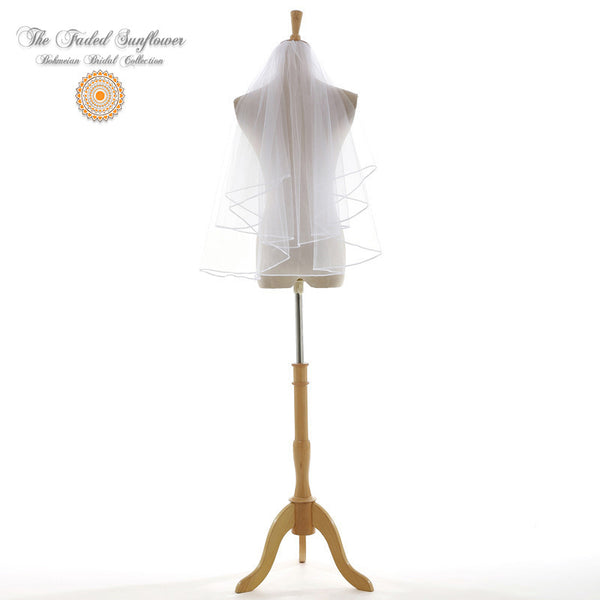 The Charlene - Traditional Bridal Veil