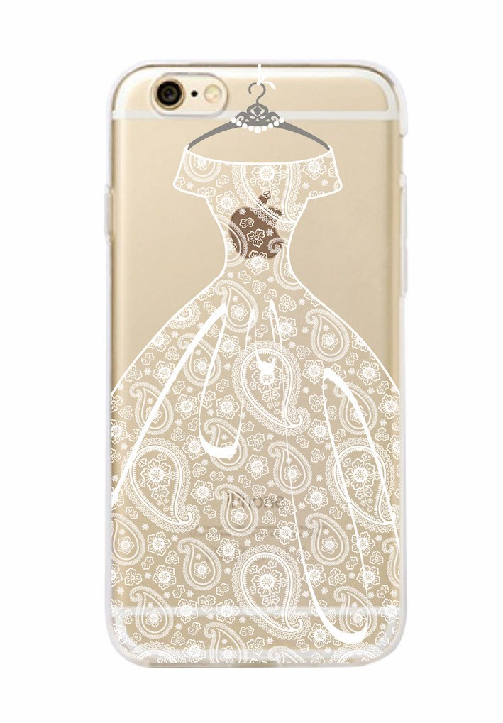 Cherry Blossom Bride & Paisley Wedding Themed Phone Case