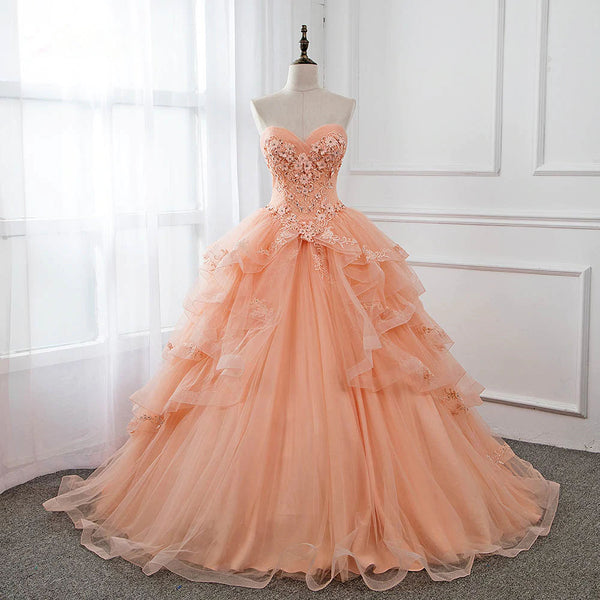 The Cora :: A Faded Sunflower Exclusive Design Quinceanera Ball Gown