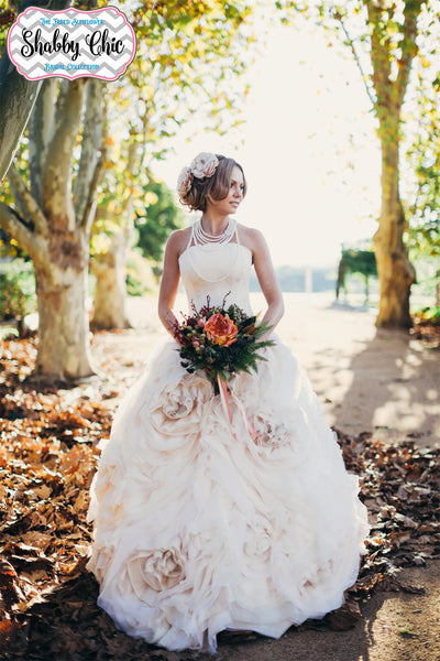 Shabby Chic Wedding Gowns – The Faded Sunflower