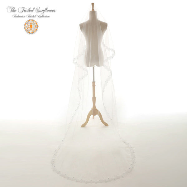 The Daisy - Bohmeian Bridal Veil