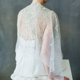 Luxury Beaded Bridal Wrap Bolero