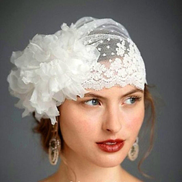 The Megan - Vintage Retro Bridal Veil
