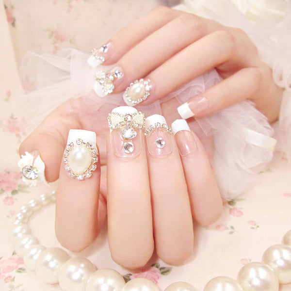 Diamonds & Pearls Wedding Set – 24 pc Set