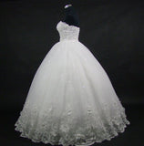 The Princess - Sweet Crystals & Tulle Shimmering Ball Gown