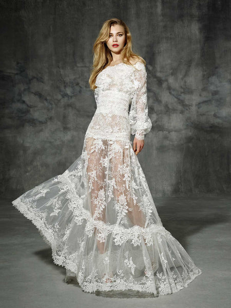 Inspired by Yolan Cris Couture Bridal – Rosellon Copy ::  On Sale! Save $200 w Free US Shipping!