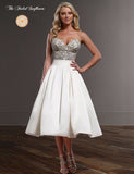 Vintage Retro Style Beaded Wedding Dress – Available up to Size 26W