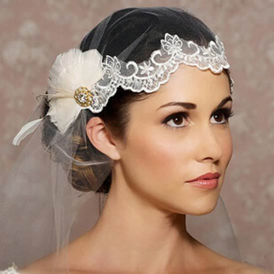 The Roxy - Boho Retro Vintage Bridal Veil