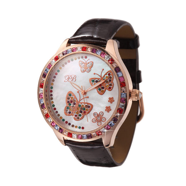Swarovski Butterflies Women's Quartz Watch
