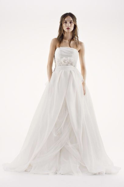 Inspired by the Vera Wang White Collection :: Textured Organza ...