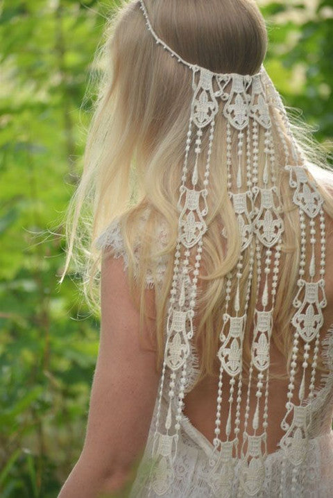 Bohemian Style Headpiece by Wanderlust Designs by Ashley