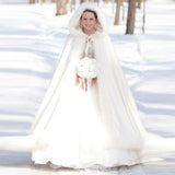 The Sophia Ankle Length Bridal Cape