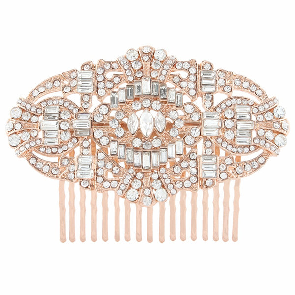 Crystals Gatsby Style Bridal Comb