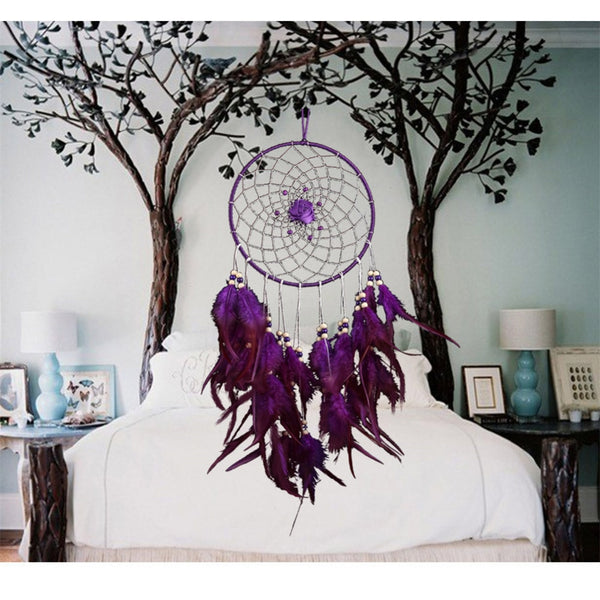 Handmade Vibrant Boho Style Dream Catcher