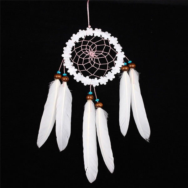 Turquiose & Wood Boho Style Wedding Dream Catcher