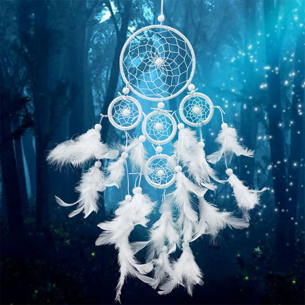 Enchanted Multi Net handmade Wedding Dream Catcher