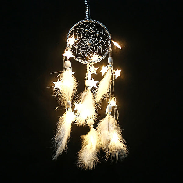 Gorgeous Lighted Wedding  Dream Catcher