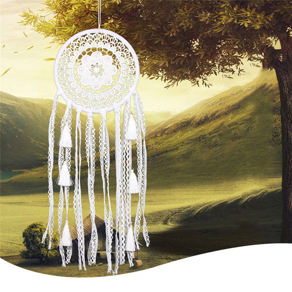 Antique Style Daisy Lace Wedding Dream Catcher