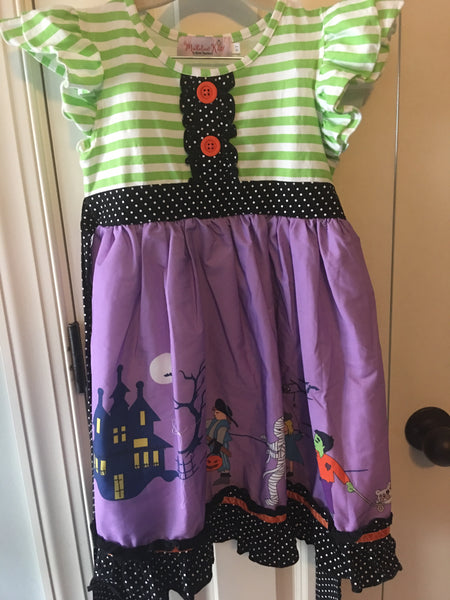 Halloween woven dress used