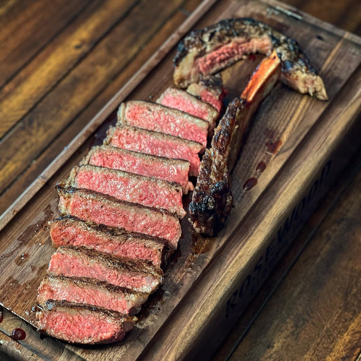 (24oz) Bone-in Australian Wagyu NY Strip (Marble Score 5+)