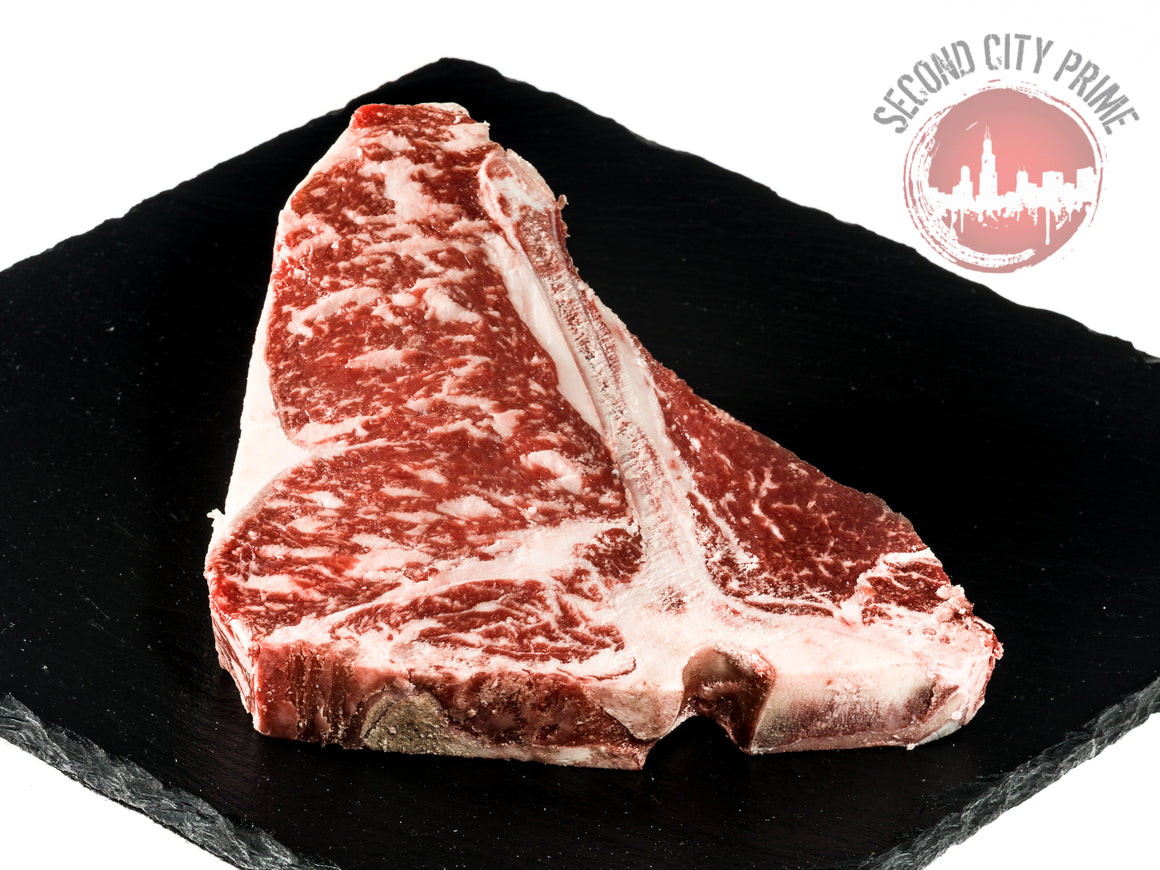 18oz T-Bone Steak - Second City Prime