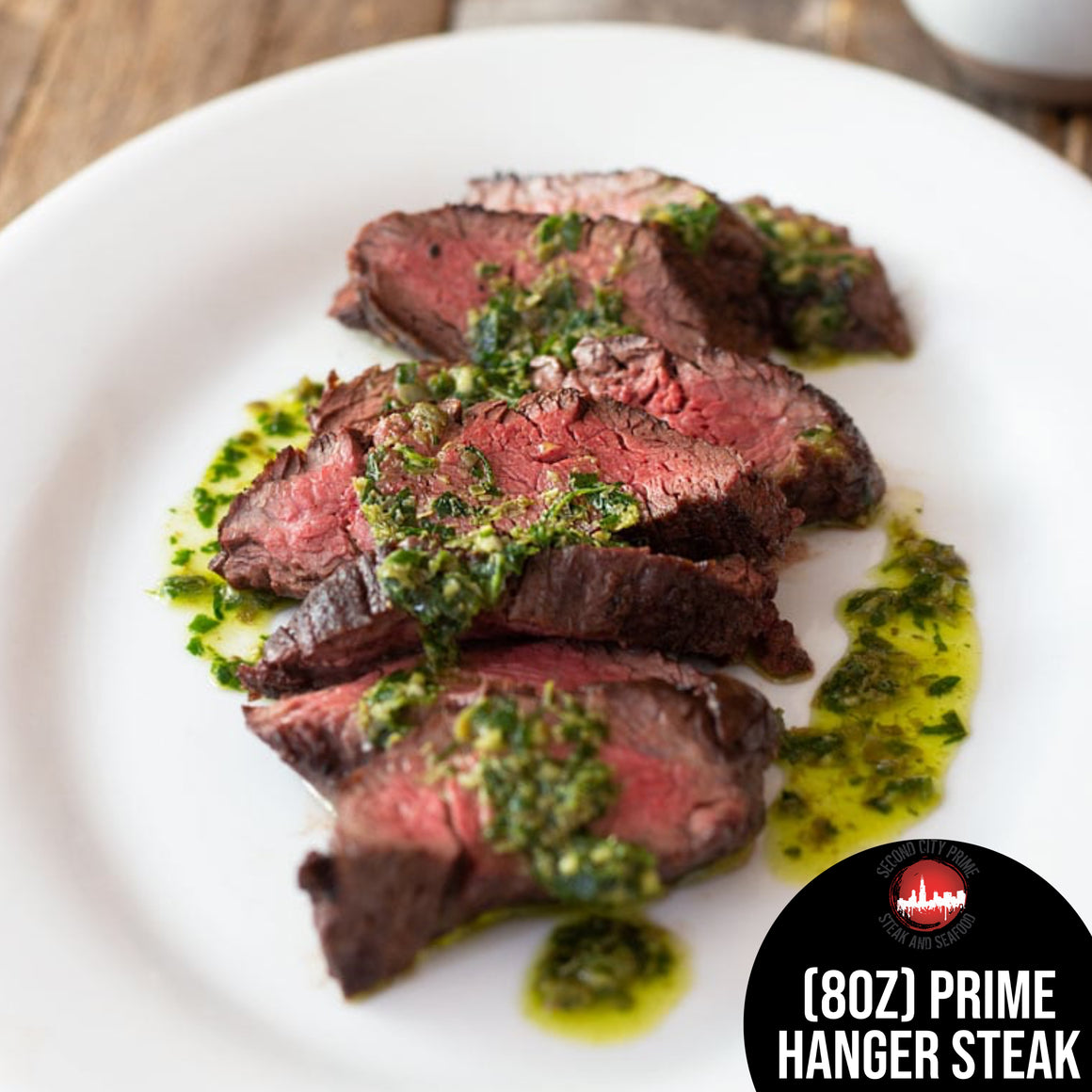8oz Prime Hanger Steak - Second City Prime