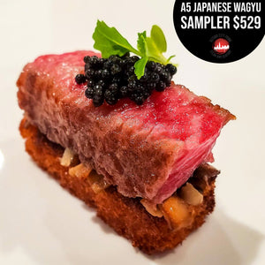 A5 Japanese Wagyu Sampler - Second City Prime
