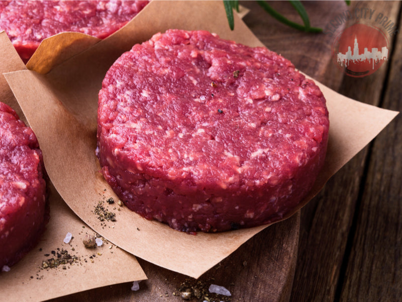(8oz) PRIME BURGER PATTIES (2 Per Pack)