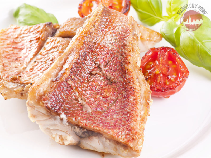 (8-10oz) - WILD CAUGHT - CARRIBEAN RED SNAPPER FILET