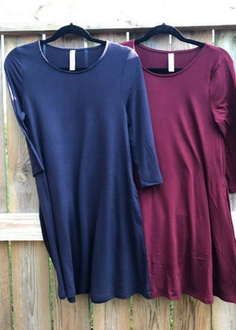 Fall Tunic with Pockets
